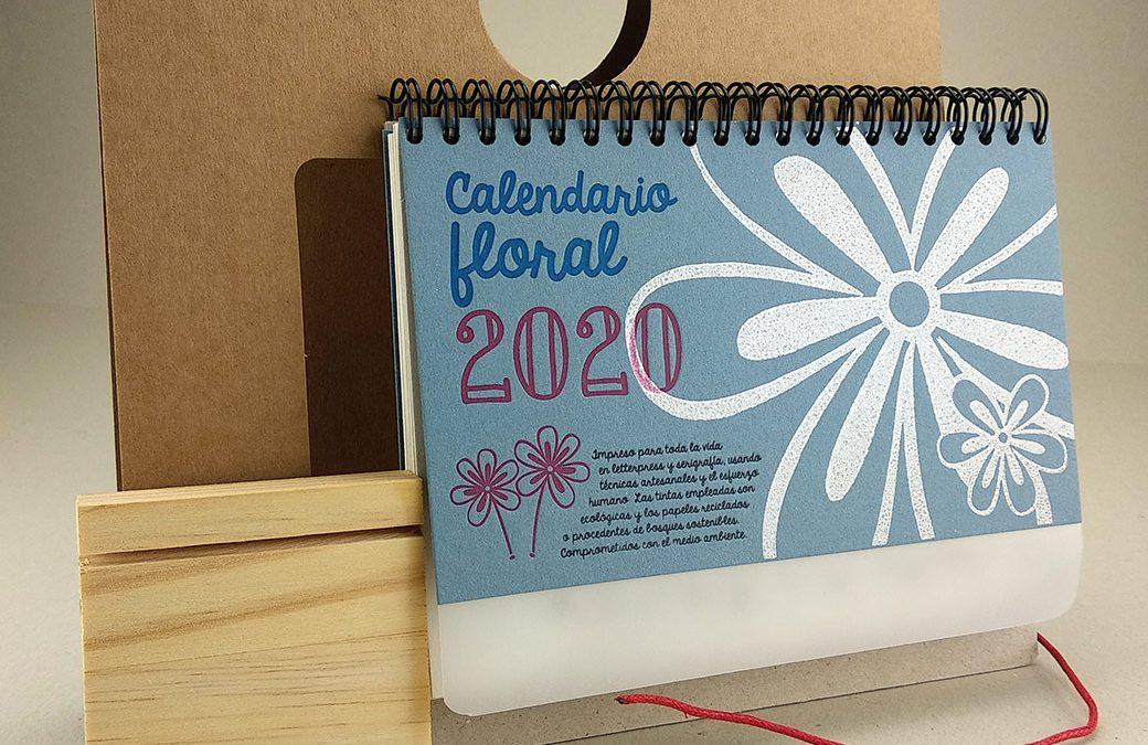 Calendarios hechos a mano con semillas de flores para sembrar la Navidad