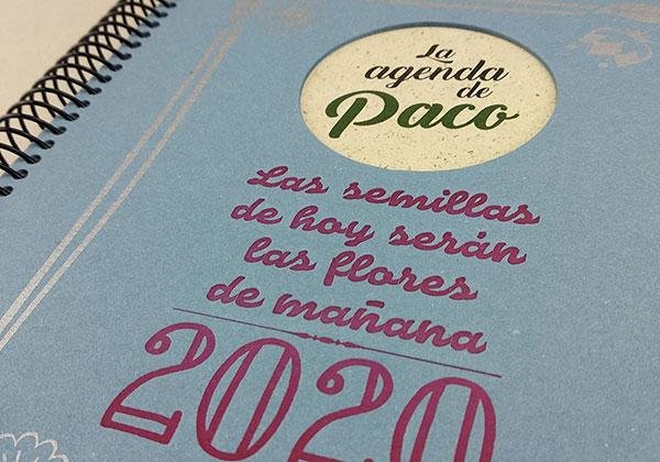 Agenda ecológica personalizada Tiporium 2020