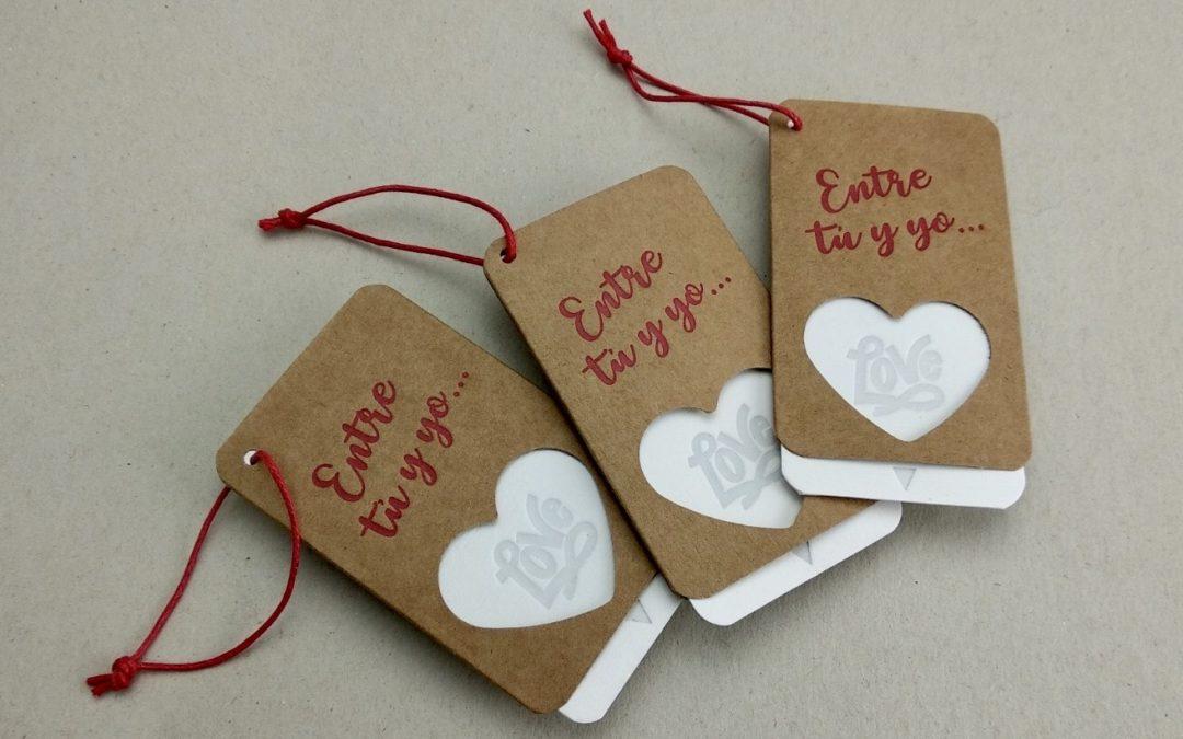 Tarjetas de San Valentín, un detalle para el 14 de febrero