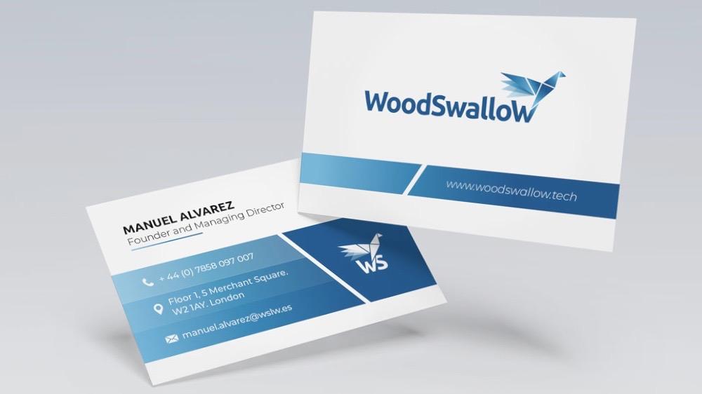 Golondrinas australianas: creando una identidad corporativa para la empresa Woodswallow