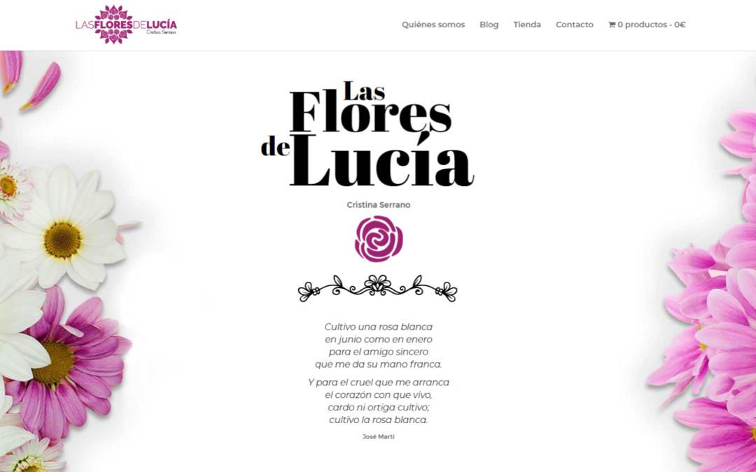 Una web para Las flores de Lucía