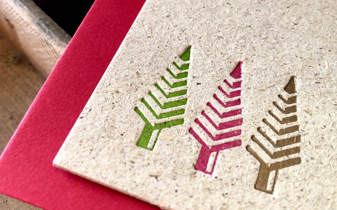 Christmas vintage para felicitar las fiestas