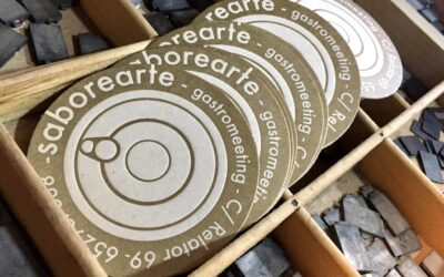 Una lata y una tapa: las tarjetas de visita de Saborearte